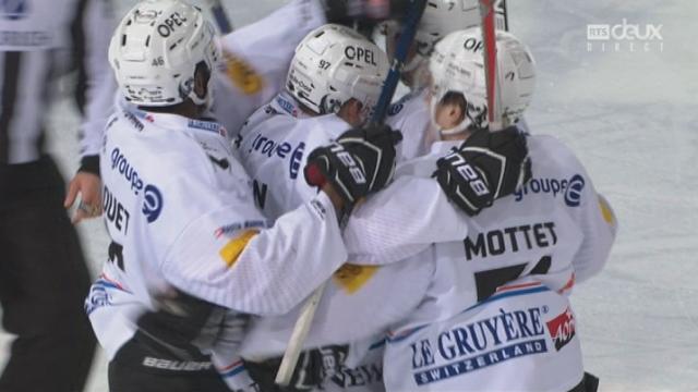 Playout LNA, finale acte IV: Ambri - Fribourg 0-1, Leeger 13e [RTS]