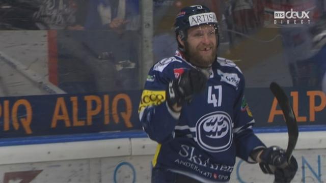 Playout LNA, finale acte IV: Ambri - Fribourg 5-1, Mäenpää 30e [RTS]