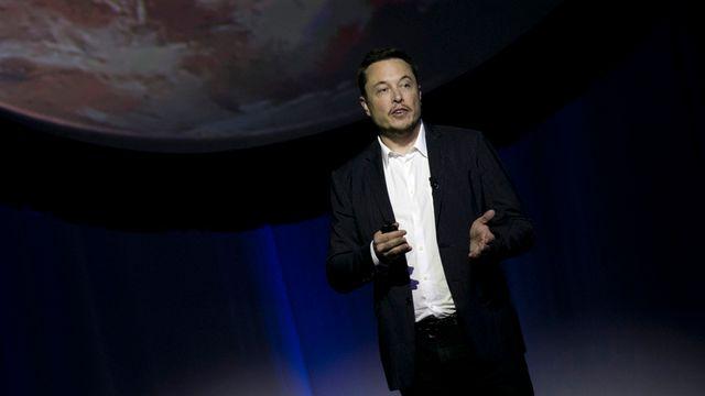 Elon Musk, fondateur de la société SpaceX. [Refugio Ruiz - AP/Keystone]