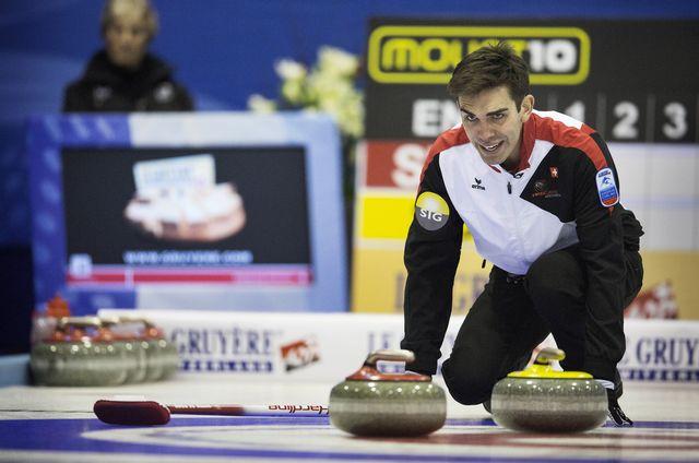 De Cruz et ses équipiers espèrent décrocher leur ticket olympique à Edmonton. [Rune Pedersen - Keystone]