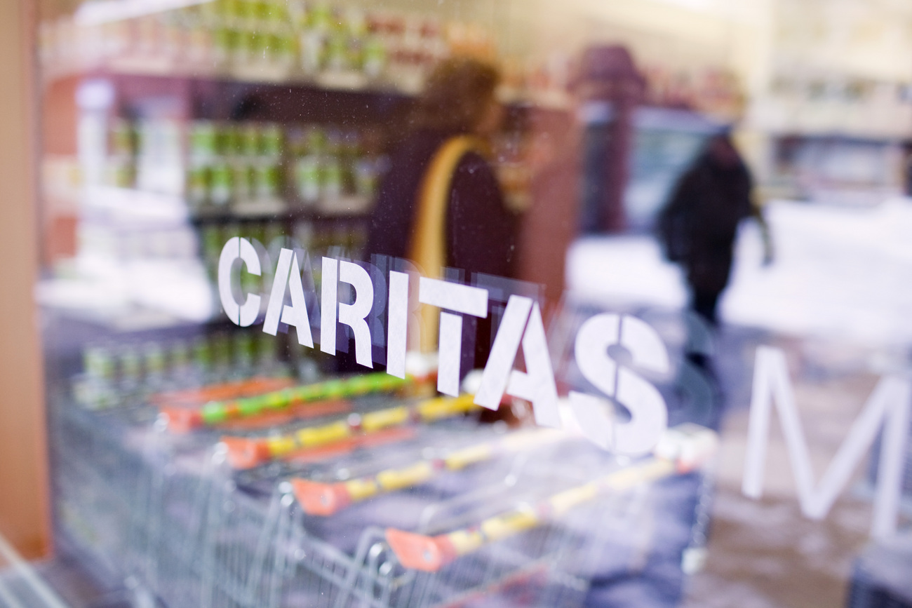 Le magasin Caritas à Zurich (image d'illustration).