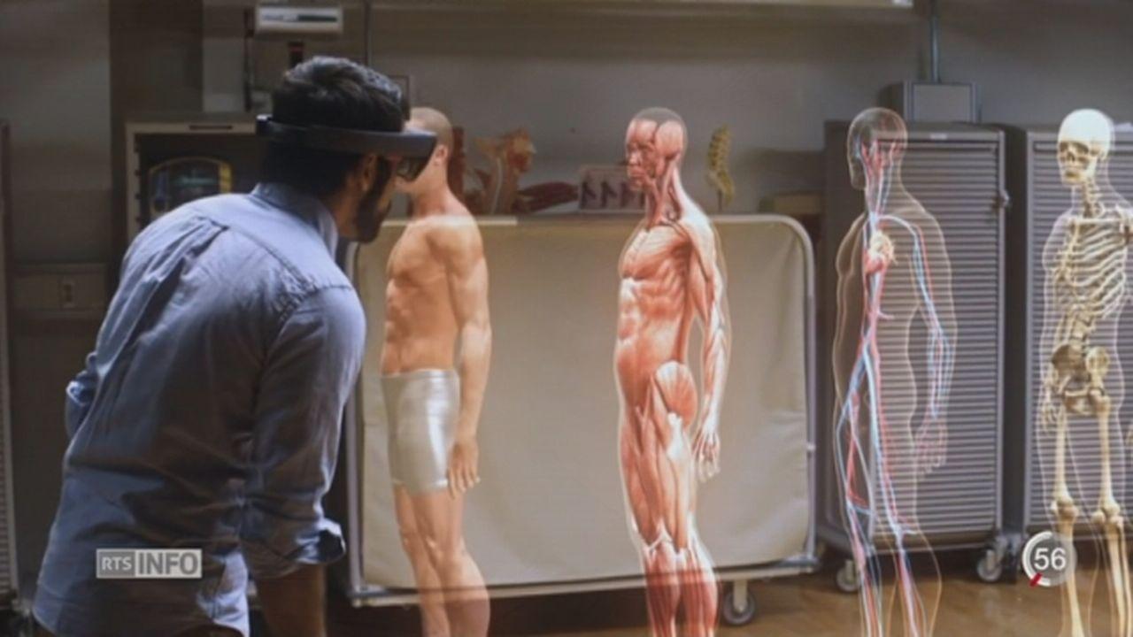 Médecine 3D: la réalité virtuelle soigne des maladies réelles [RTS]