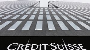 Le bâtiment de Crédit Suisse à Zurich.