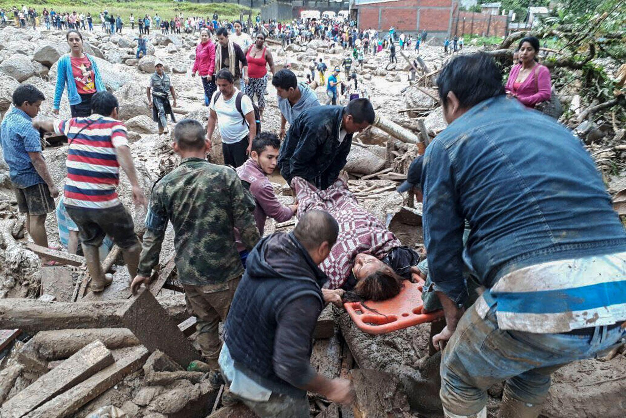 Près de 100 morts dans une coulée de boue — Colombie