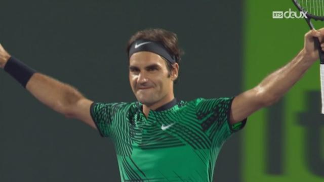 Tennis - Miami Open: Federer se qualifie pour la finale [RTS]