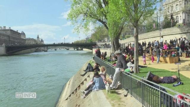 Paris fait un pas de plus vers le développement durable [RTS]