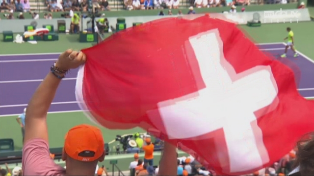 Indian Wells (USA), finale, R. Federer (SUI) - R. Nadal (ESP): 5-3 [RTS]