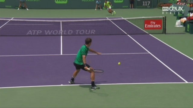 Indian Wells (USA), finale, R. Federer (SUI) - R. Nadal (ESP): 3-3 [RTS]