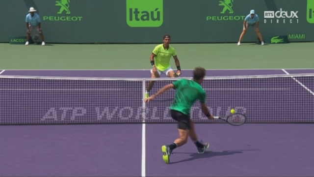 Indian Wells (USA), finale, R. Federer (SUI) - R. Nadal (ESP) 6-3 4-4: le point du match [RTS]