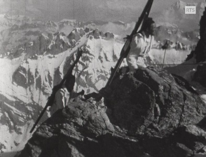 Une course de ski-alpinisme
