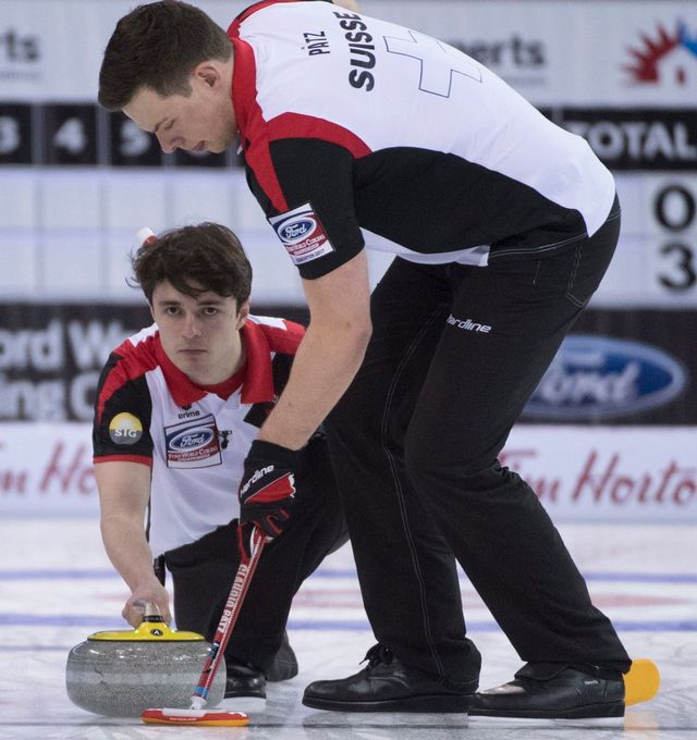 L'équipe de Suisse reste performante aux Mondiaux d'Edmonton. [Jonathan Hayward - Keystone]