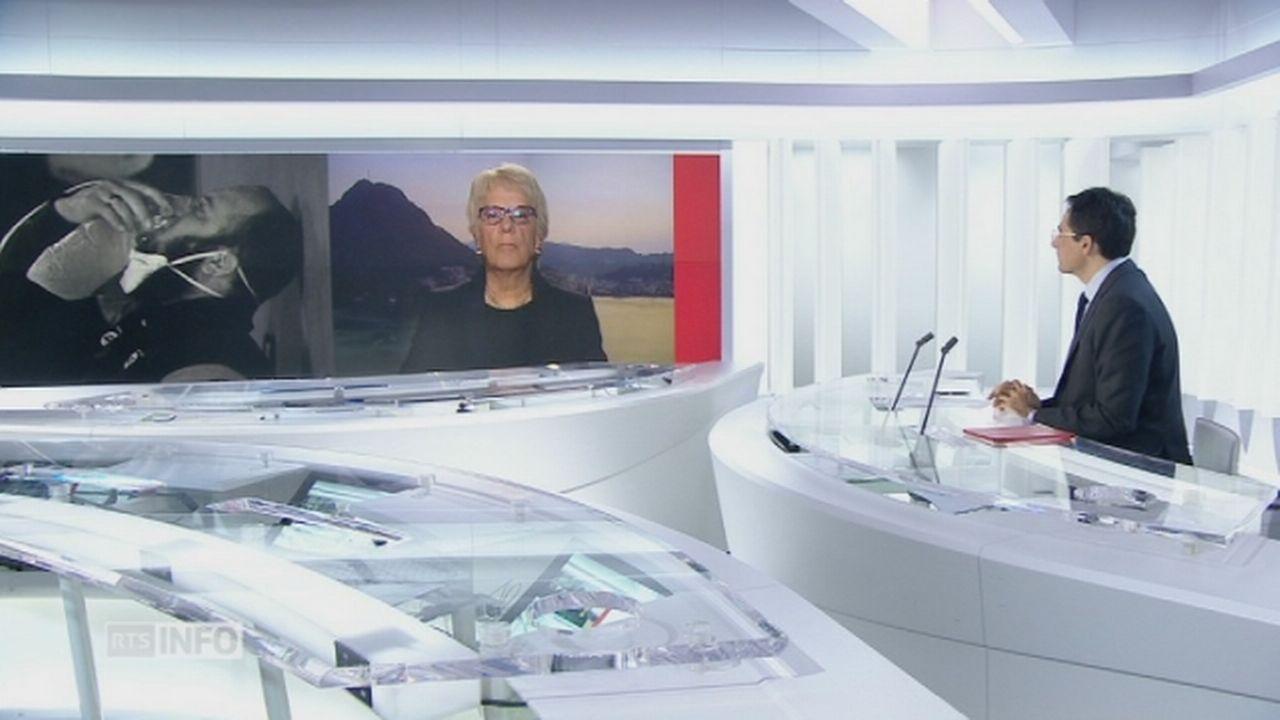 """Carla Del Ponte: """"Assad doit être jugé pour ces enfants qui ont été tués"""" [RTS]"""