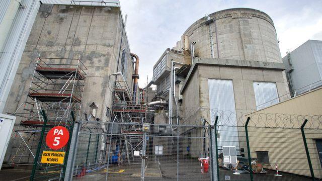 La centrale nucléaire de Fessenheim (F), dans le Haut-Rhin. [Sébastien Bozon - AFP]
