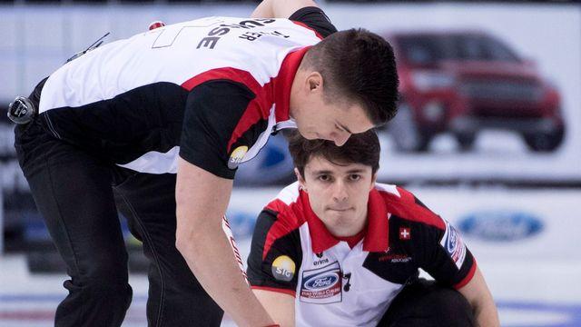 La Suisse reste en course pour obtenir une médaille au Canada. [jonathan Hayward - Keystone]