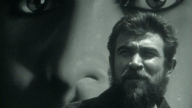 Armand Gatti en 1963. [RTS]