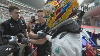 Qualifications: Lewis Hamilton en pole position, suivi de Sebastian Vettel et Valtteri Bottas [RTS]