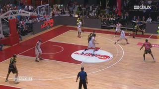 Basketball - Coupe de Suisse Hommes: les Lions de Genève remporte la finale face à Monthey (78-77) [RTS]