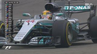 GP de Chine: Victoire de Lewis Hamilton devant Sebastian Vettel et Max Verstappen [RTS]