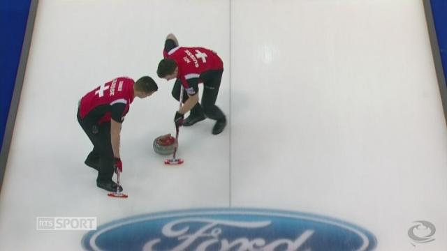 Demi-finale, Suède - Suisse (6-5 ES): les Suisses courbent l'échine de justesse dans l'end supplémentaire [RTS]