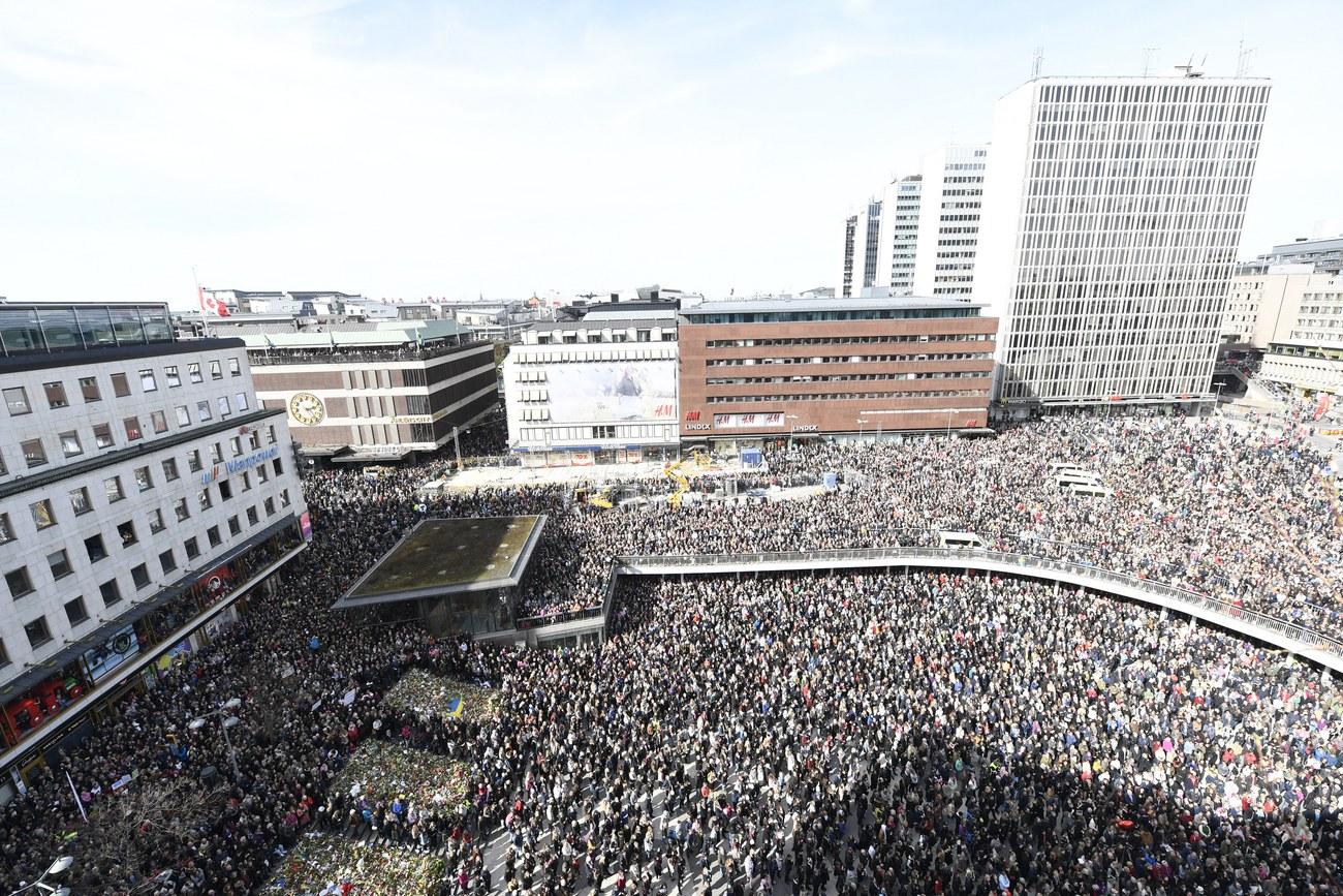 L'auteur présumé est un demandeur d'asile débouté — Attentat de Stockholm