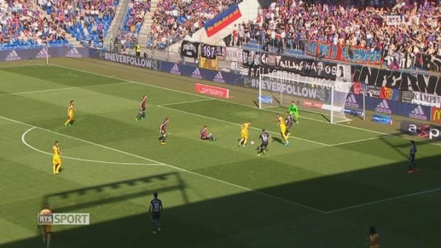 Football - Super League (27e j.): Bâle – Young Boys (1-1) [RTS]