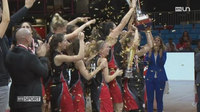 Basketball - Finale de la Coupe de Suisse chez les Femmes: victoire pour Winterthour [RTS]