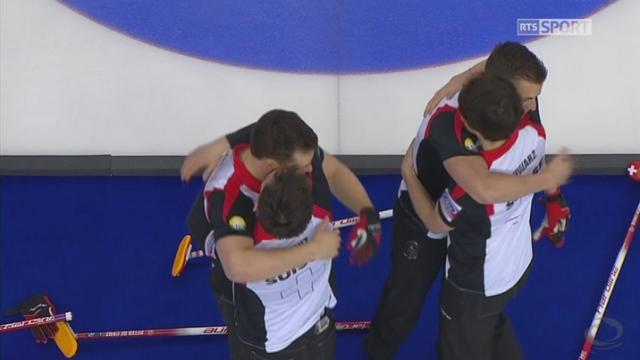 Championnat du monde, petite finale:  Suisse - USA 7-5, la Suisse remporte la médaille de bronze [RTS]
