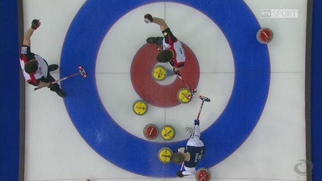 Championnat du monde, petite finale:  Suisse - USA 6-3, les Suisses prennent l'avantage [RTS]