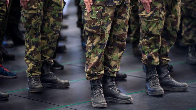 Le service militaire est obligatoire en Suisse, mais il y a plusieurs options. [Dominic Steinmann - Keystone]