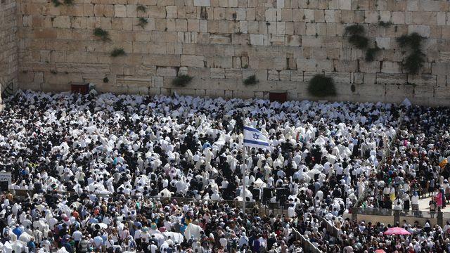 La Pâque juive commémore la libération de l'esclavage du peuple hébreu. [Menahem Kahana - AFP]