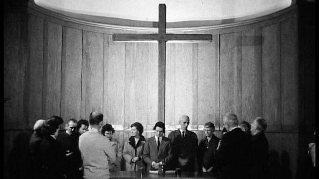 Présence protestante en 1973. [RTS]