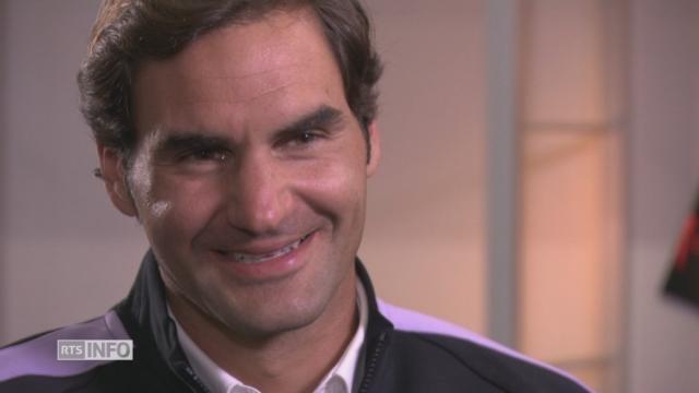 """Roger Federer:""""J'ai toujours envie d'être numéro un"""" [RTS]"""