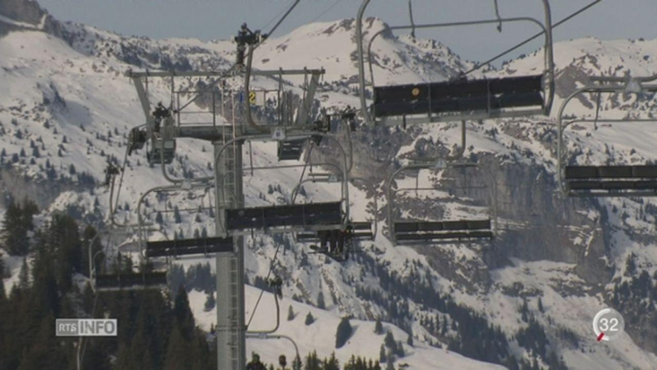 Ski alpin: 25 stations s'inventent un abonnement général [RTS]