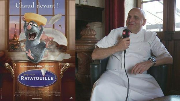 Le chef philippe chevrier voque ses trois films pr f r s - Chef de cuisine en suisse ...