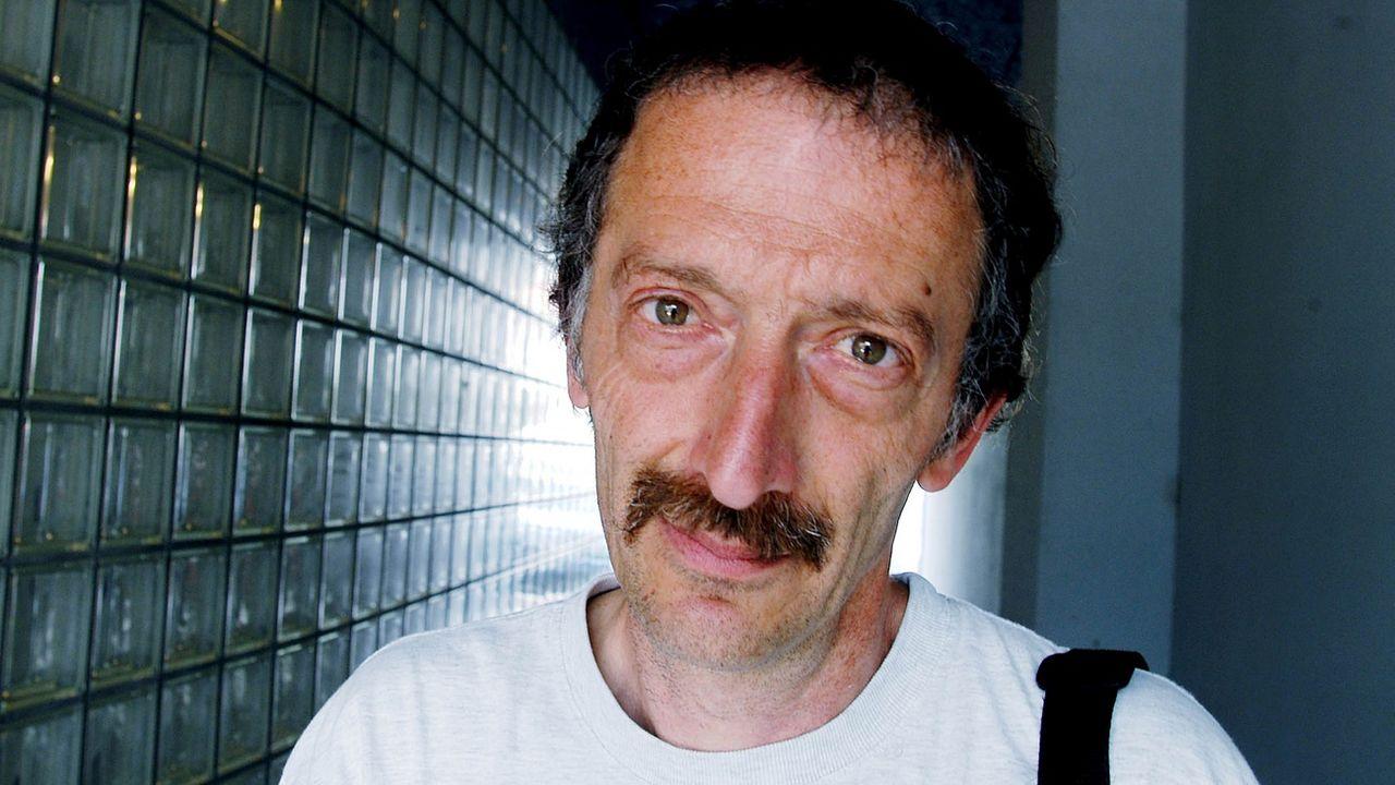 Chaïm Nissim en mai 2003 à Genève. [Edipresse/Pascal Frautschi - Keystone]