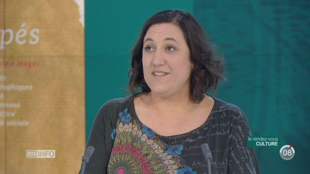 L'invitée culturelle: Ghislaine Heger retrace le parcours de personnes à l'aide sociale [RTS]