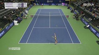 Tennis-WTA Bienne: Marketa Vondrousova et Anett Konteveit en finale [RTS]