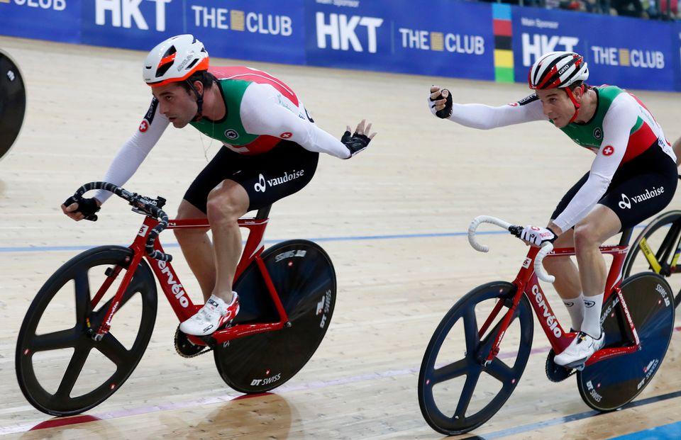Le duo helvétique a réalisé une bonne performance mais n'a pas pu se mêler à la lutte pour les médailles. [Kin Cheung - Keystone]