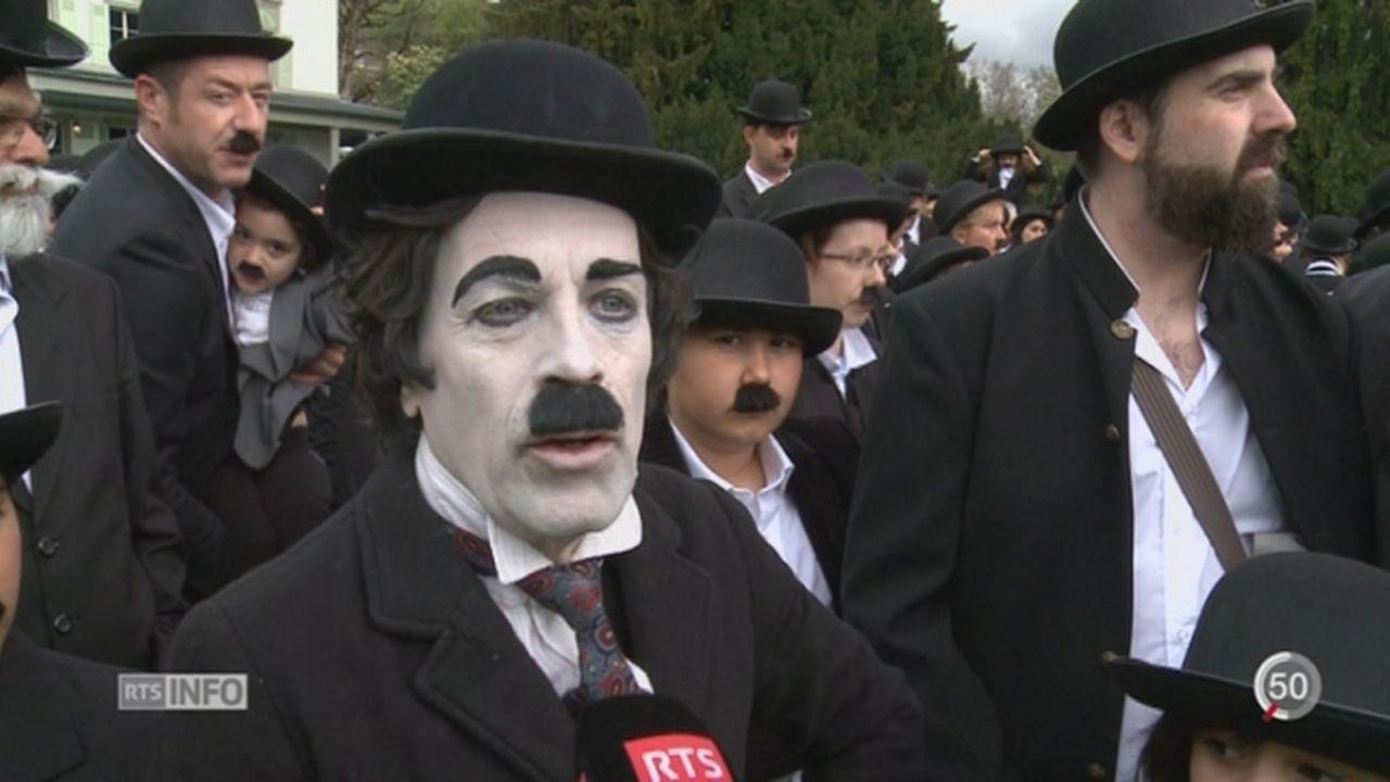 Le Musée Chaplin a fêté son 1er anniversaire avec 662 Charlots [RTS]