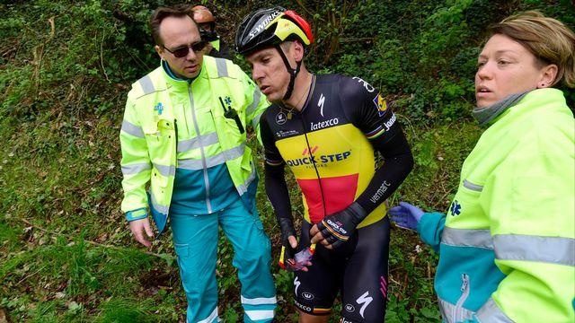 Philippe Gilbert a chuté lors de l'Amstel Gold Race. [Nico Vereecken - EQ]