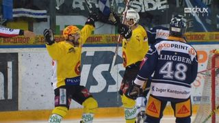 Playoffs LNA, finale acte VI : Zoug – Berne 0-3, 21e Moser [RTS]