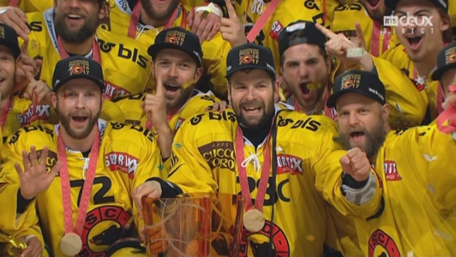 Playoffs LNA, finale acte VI : Zoug – Berne 1-5, les Bernois soulèvent le trophée [RTS]