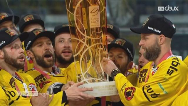 Hockey - Playoffs: Berne est champion de Suisse [RTS]