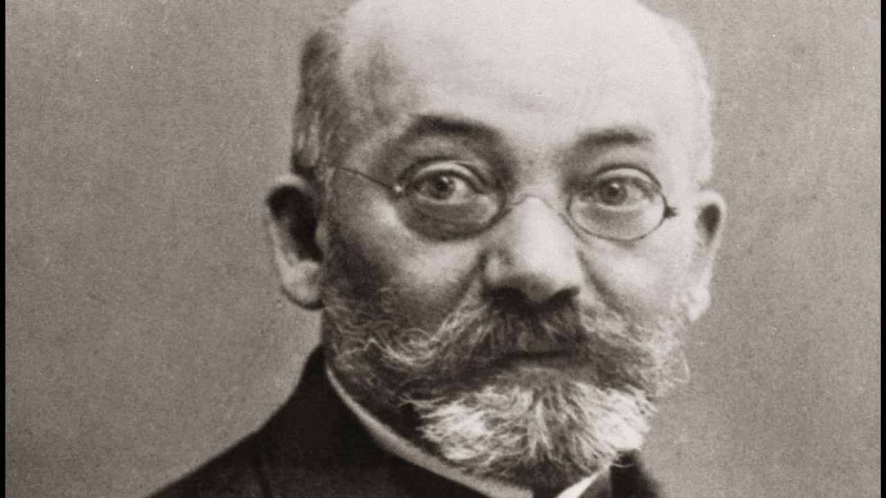 Portrait de Lejzer Ludwik Zamenhof (1859-1917), médecin et linguiste polonais (multilingue), créateur de l'espéranto comme langue internationale.  [AFP]