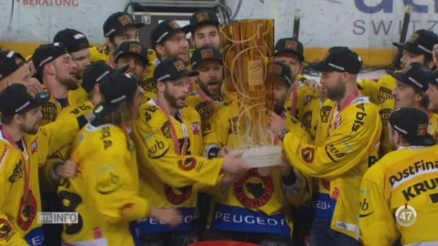 Hockey- LNA: les Bernois remportent leur 15ème championnat [RTS]