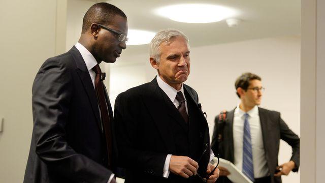 La pression reste très forte sur les dirigeants de Credit Suisse malgré les décisions annoncées. [Walter Bieri - Keystone]