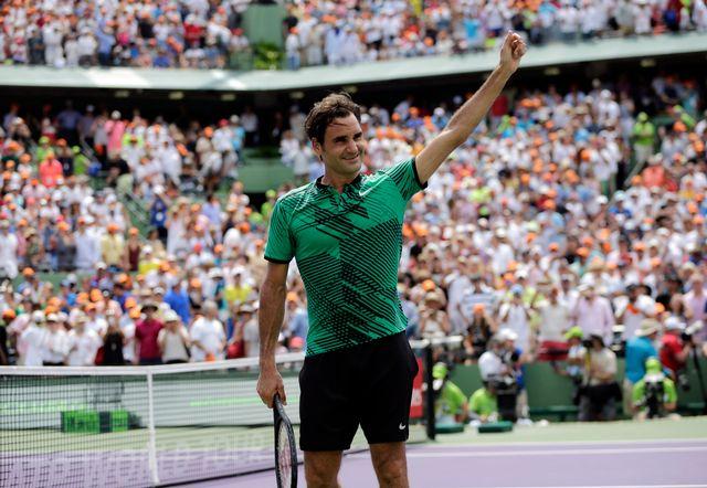 Federer ne disputera aucun tournoi sur terre battue avant Roland-Garros. [Lynne Sladky - AP/Keystone]