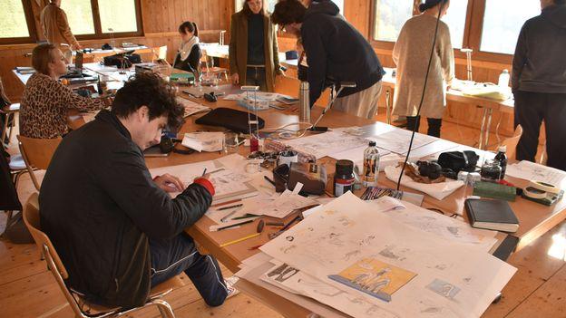 InterCités – Des dessinateurs jamais édités créent ensemble une bande-dessinée