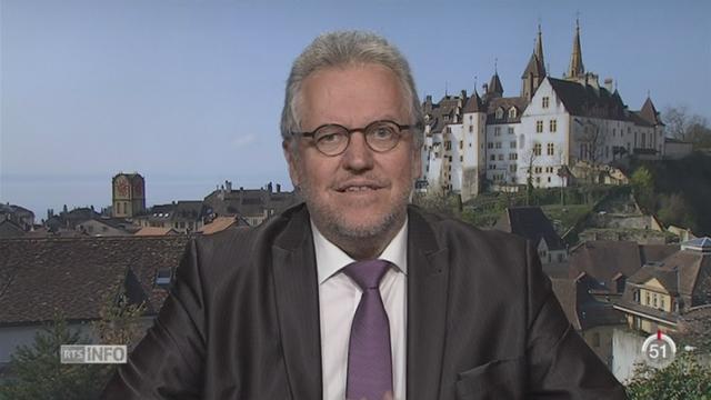 Chômage - Inégalités: la déclaration de Jacques-André Maire, vice-président Travail.Suisse [RTS]
