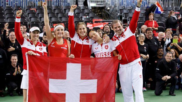 Sport matin - Le nouveau rôle de Martina Hingis au sein de l'équipe de Suisse de Fed Cup